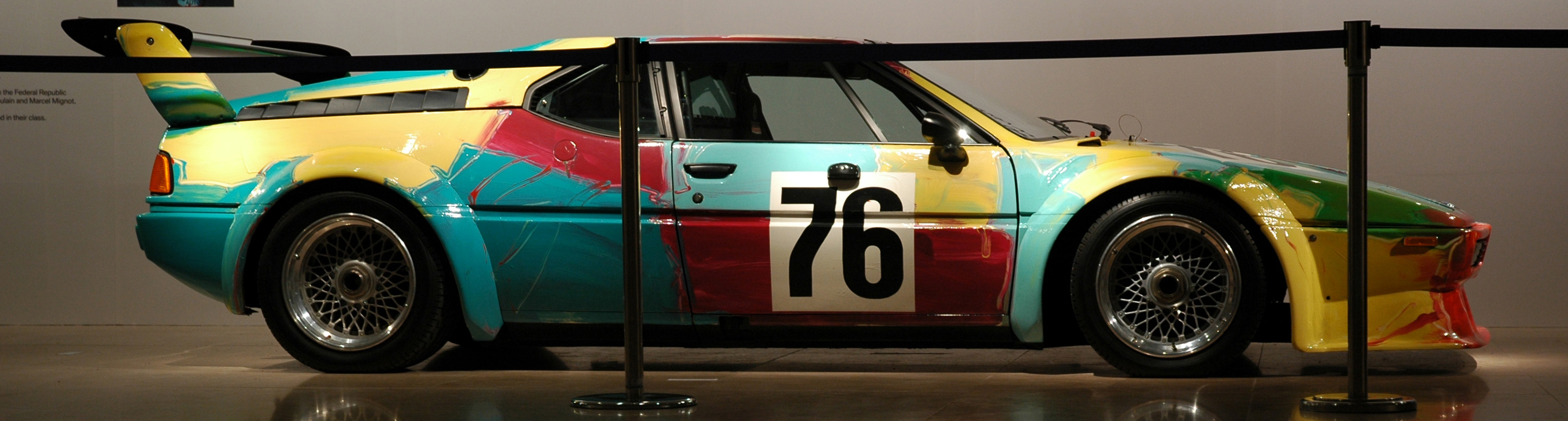 BMW M1 Art Car - Copyright Nik Azwaa Azmi