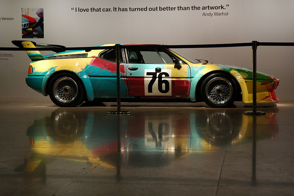 Kunst im Hotel - BMW M1 Art Car by Andy  Warhol - Copyright Nik Azwaa Azmi